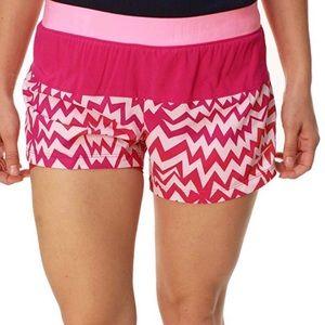 Nike • Pink Chevron Shorts Gym Running